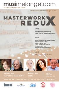 Masterworks Redux flyer
