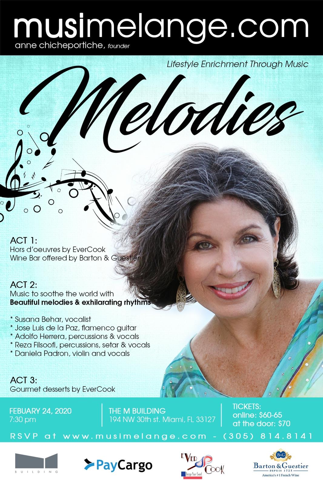 200224 - Melodies Flyer